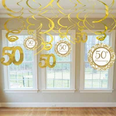 50th Anniversary Party Decorating Ideas   50th anniversary