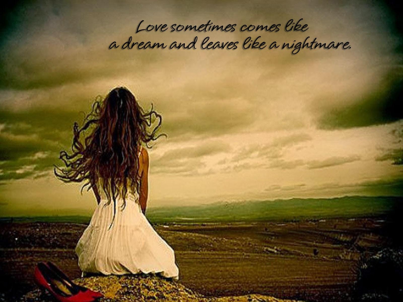 Sad Love Words 1 High Resolution Wallpaper Hdlovewallcom