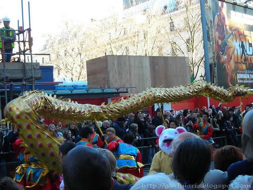 Dragon at the parade