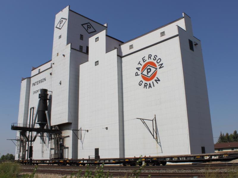 Grenfell grain elevator