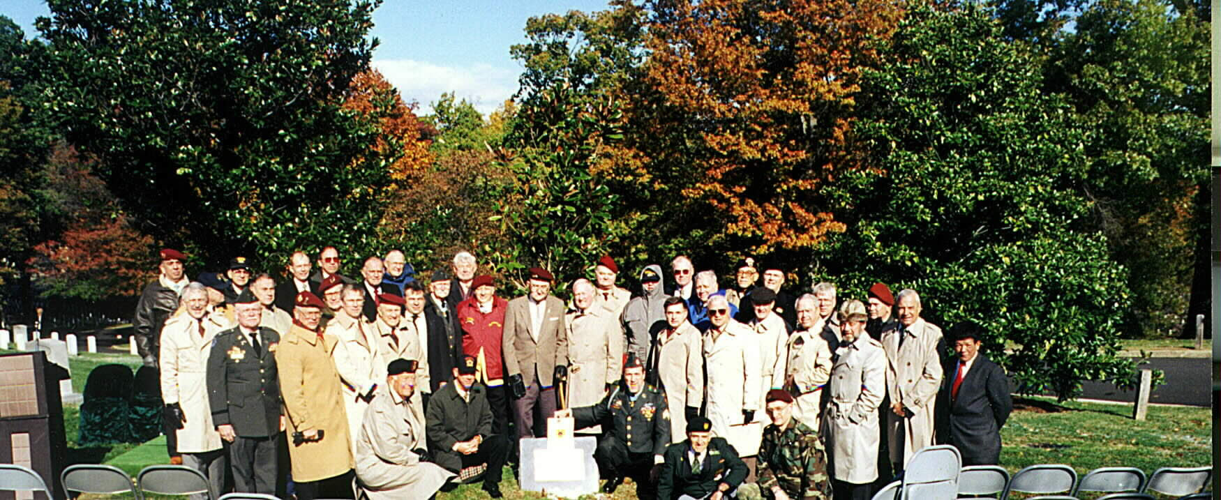 Vietnamese Rangers Memorial Dedication PHOTO