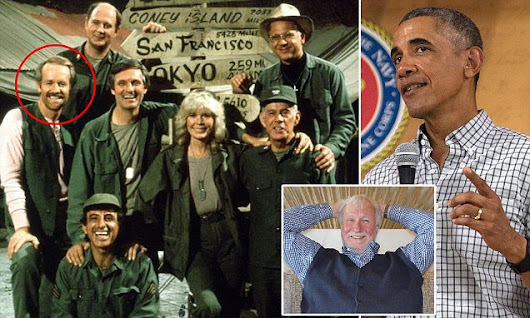 Obama learned 'many values' from hit TV show M*A*S*H, lead writer says