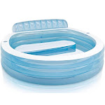 Intex 57190EP Swim Center Inflatable Family Lounge Pool, 88in x 30in for Ages 3+ by VM Express