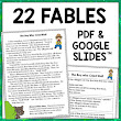 Fables with Text Based Questions and Graphics Organizers