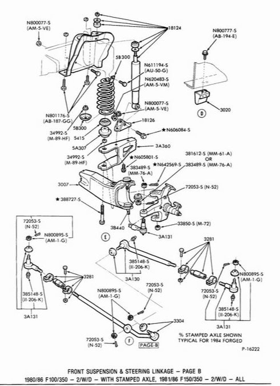 2000 Ford F150 Front Suspension Diagram
