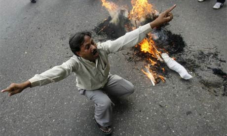 Protest in New Delhi against Hindu anti-Christian violence in India