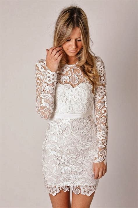 Long Sleeve Lace Wedding Dress   Dressed Up Girl
