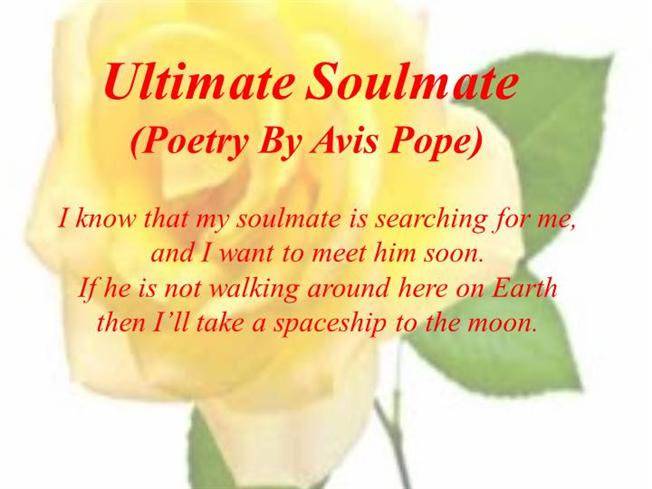 Ultimate Soulmate Poetry By Avis Pope Authorstream