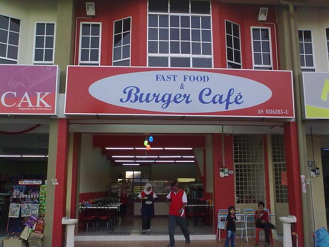 Fast Food & Burger Cafe