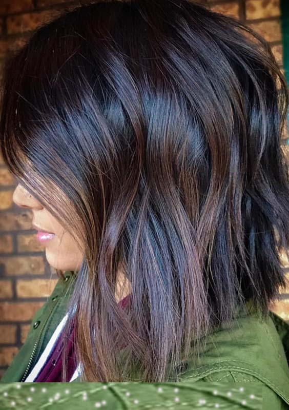 28 Charming Dark Brown Chocolate Hair Color Ideas for 2018  Modeshack
