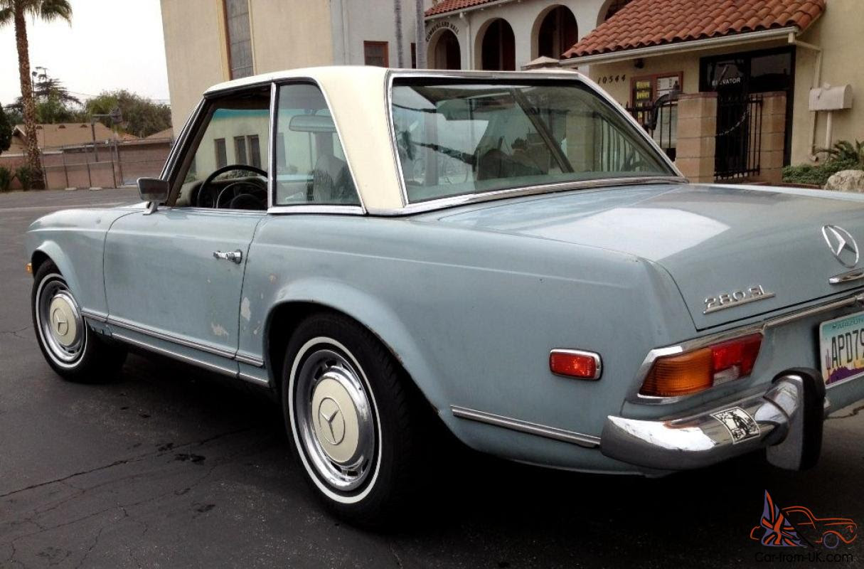 1970 MERCEDES BENZ 280SL W113 PAGODA Automatic with A/C