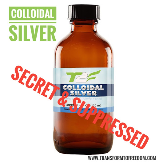 Colloidal Silver: What Are Big Pharma` So Afraid of?