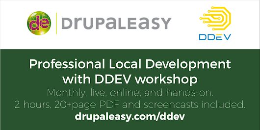 Professional Local Development with DDEV - 2 hour workshop