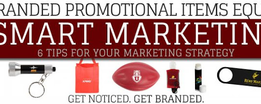 Branded Promotional Items Equal Smart Marketing