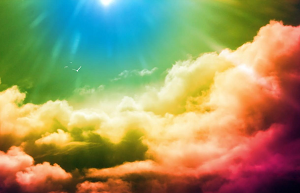 61+ Gambar Awan Berwarna Warni Paling Bagus - Gambar Pixabay