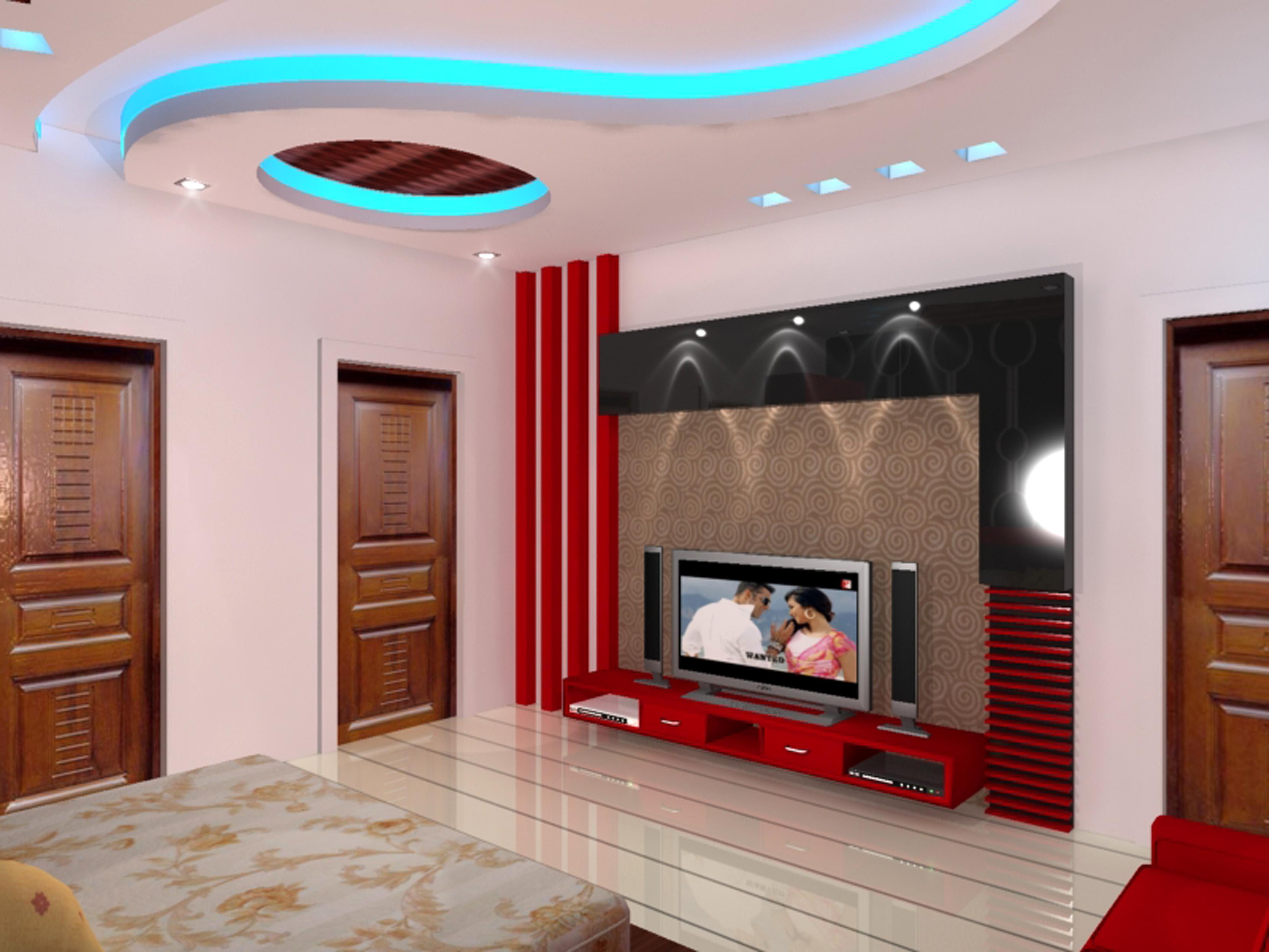 Lcd Wall Design In Bedroom Bedroom Ideas