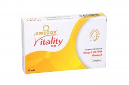 Omegor® Vitality 1000 - Omega 3 - Sconti fino al 20% - EPA-DHA - Puri e Concentrati