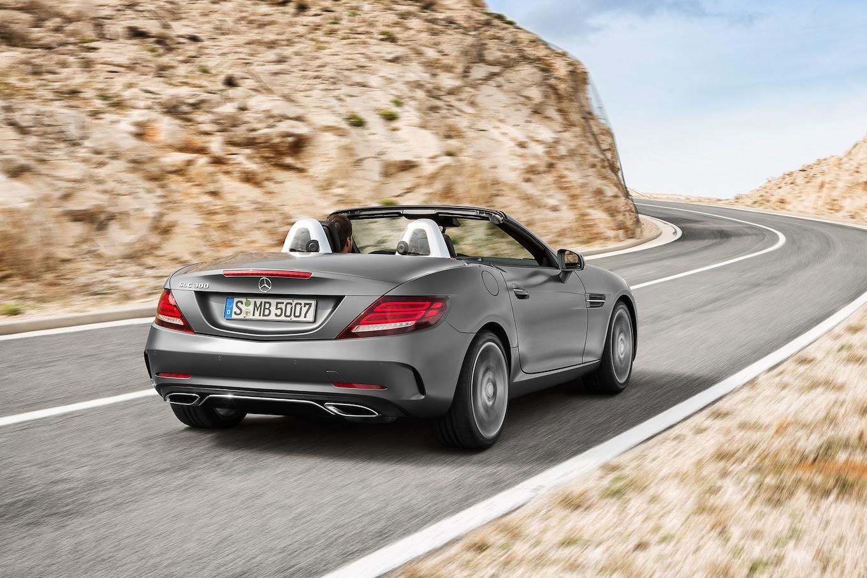 2017 Mercedes-Benz SLC-Class First Look Review