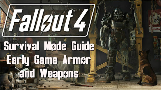 Fallout 4: Survival Mode - Early Game Armor and Weapons - YouTube