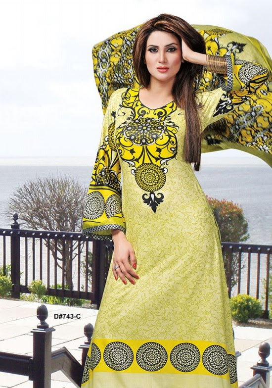 Dawood-Textile-Classic-Lawn-Collection-2013-New-Latest-Fashionable-Clothes-Dresses-13