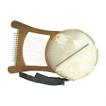 Nevel Harp With Case