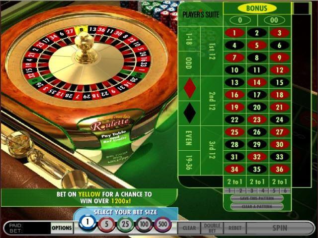 играть онлайн европейская рулетка бесплатно