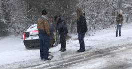 Look: Dale Earnhardt Jr. Tries Driving In The Snow, Did Not Go Well