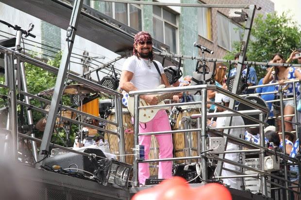 Chiclete com Banana no carnaval de Salvador (Foto: Wallace Barbosa /AgNews)