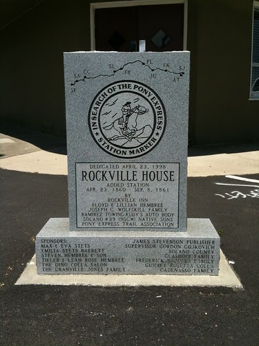 Rockville House Pony Express Station