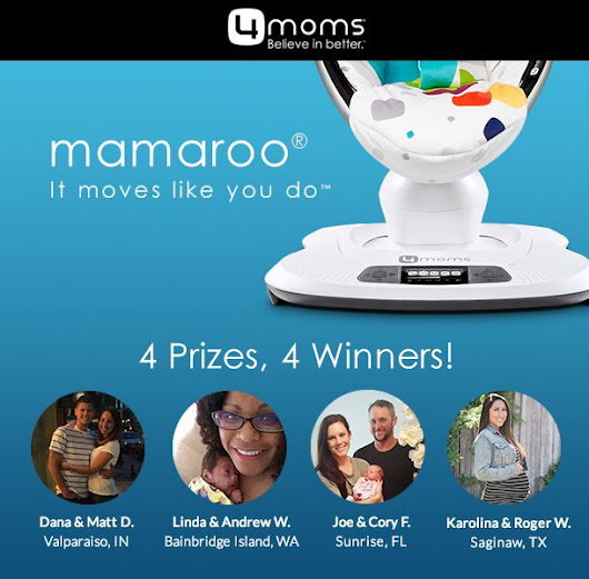 Winners: MyRegistry + 4moms® mamaRoo® Sweepstakes