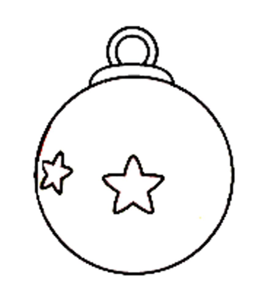 Unico Palline Di Natale Disegni Da Colorare Migliori Pagine Da