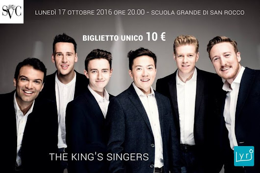 The King's singers – SVC | | un Ospite di Venezia news