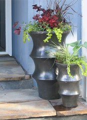 Entry Containers Planted