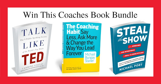 Click Here To Win This Coaches Book Bundle.