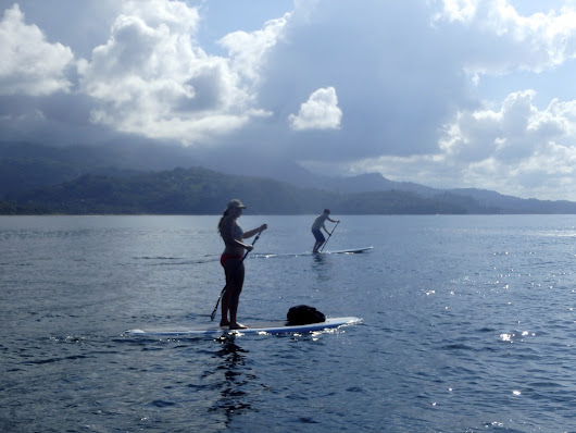 Stand Up Paddle Camp in Costa Rica