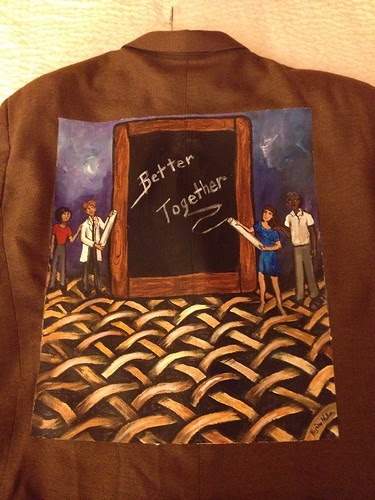 """""""Better Together"""" a jacket for Bruce Ramshaw"""