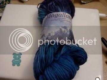 blues yarn