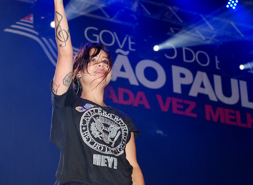 Em 2010, Pitty foi uma das atração da Virada Cultural Paulista (Crédito: Fábio Alexandre)