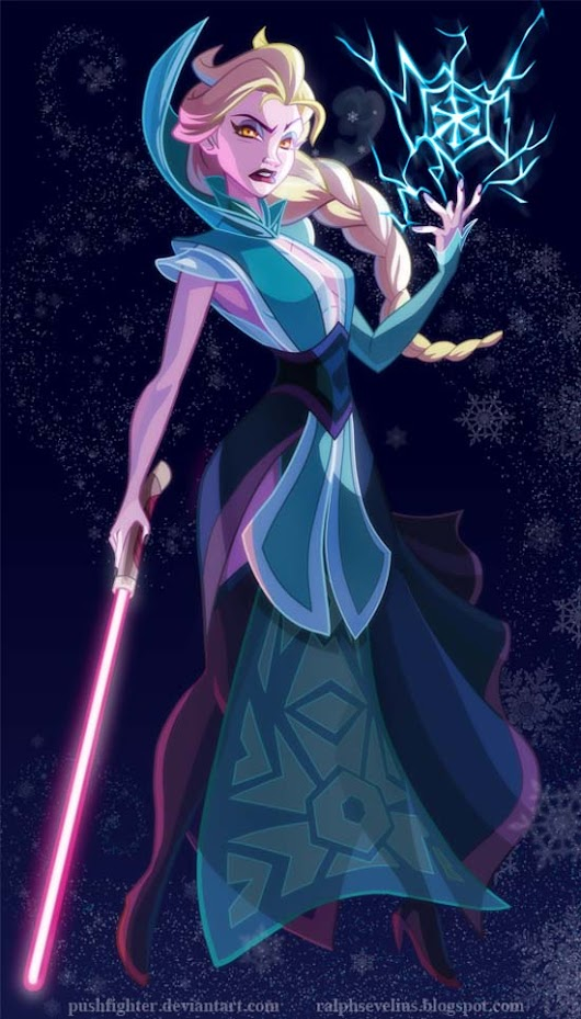 If Disney Princesses Were In Star Wars...Deviant Artist Kudos to pushfighter