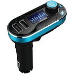 Supersonic IQ-211BT Bluetooth Wireless FM Transmitter with Remote Black