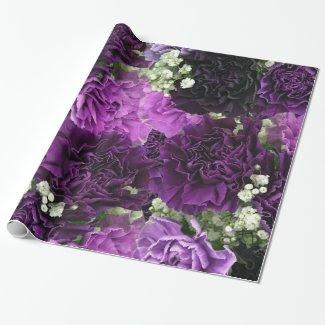Bouquet Purple Carnations