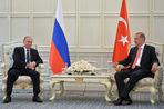 Президенты России и Турции провели переговоры в Баку