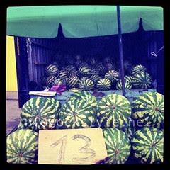 Farmers' Market - Watermelons