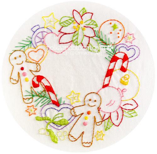 New pattern: Gingerbread Christmas Joy