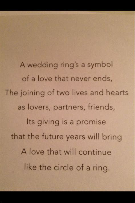 25  best ideas about Wedding poems on Pinterest   Love