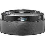 Insignia CD Boombox with AM/FM Radio - Black