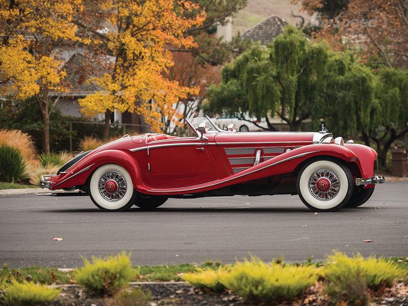 1937 Mercedes-Benz 540K Special Roadster Sells $9.6M