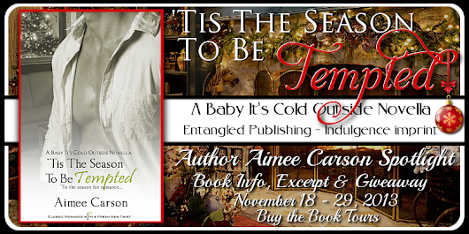 Blog Tour: 'Tis the Season to Be Tempted by Aimee Carson {Excerpt + Giveaway}