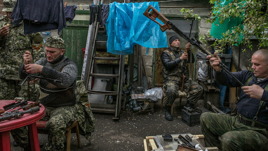 Behind the Masks in Ukraine, Many Faces of Rebellion