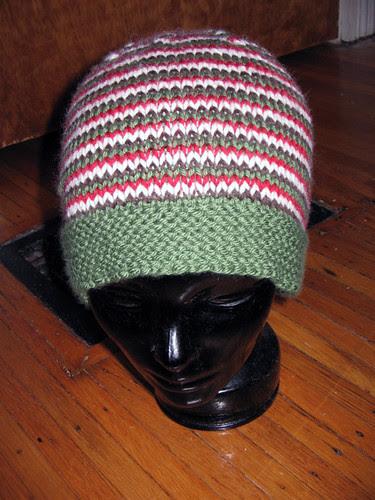 Dad's Xmas hat 2